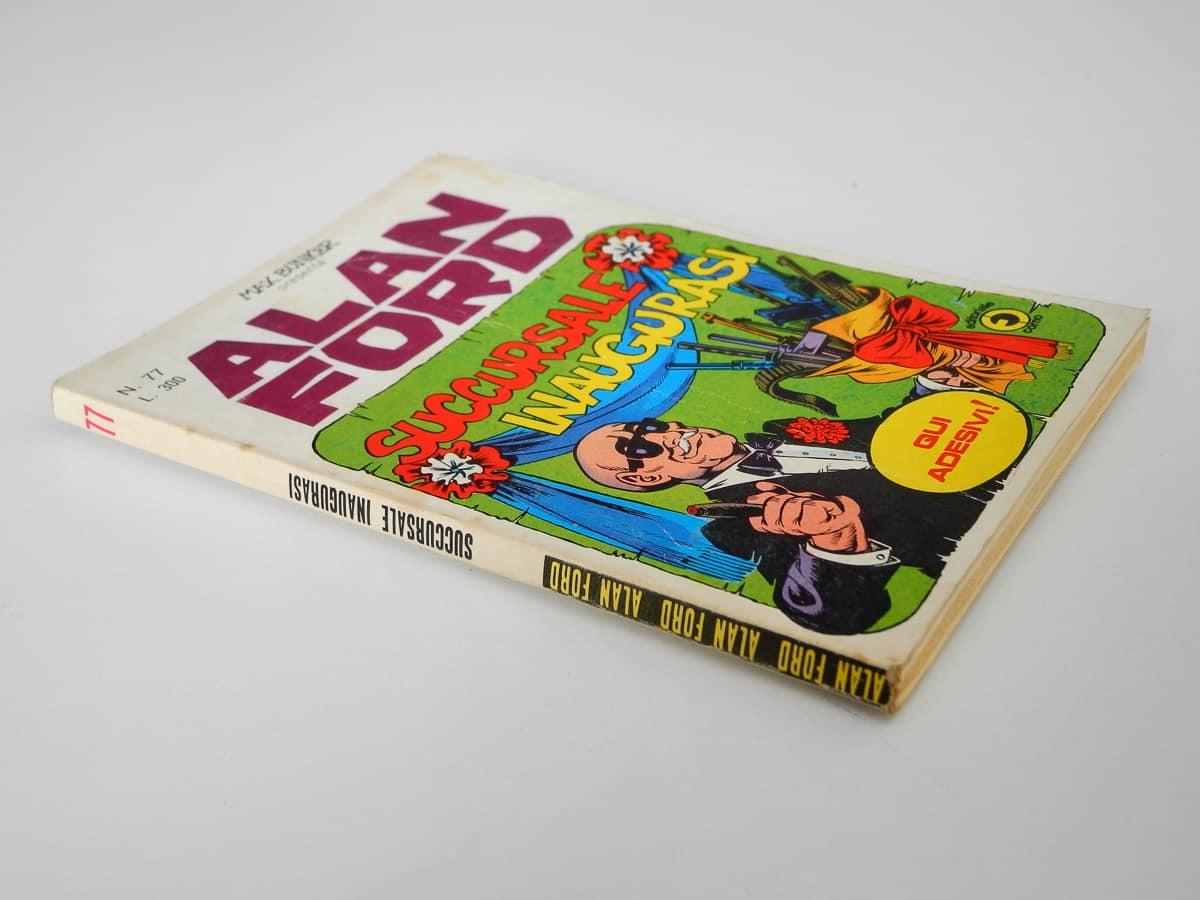 Alan Ford n. 77 con adesivi Corno
