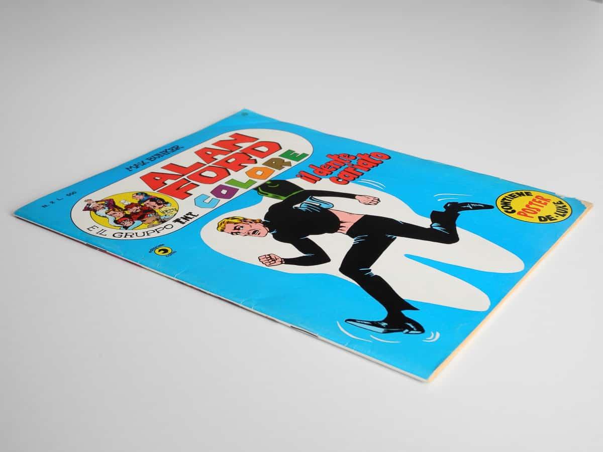 Alan Ford Colore n. 2 con poster Corno