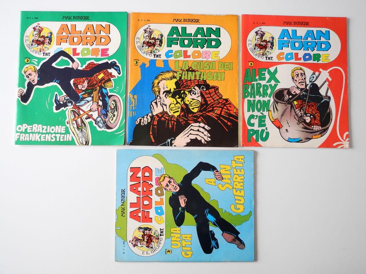 Alan Ford Colore lotto Corno