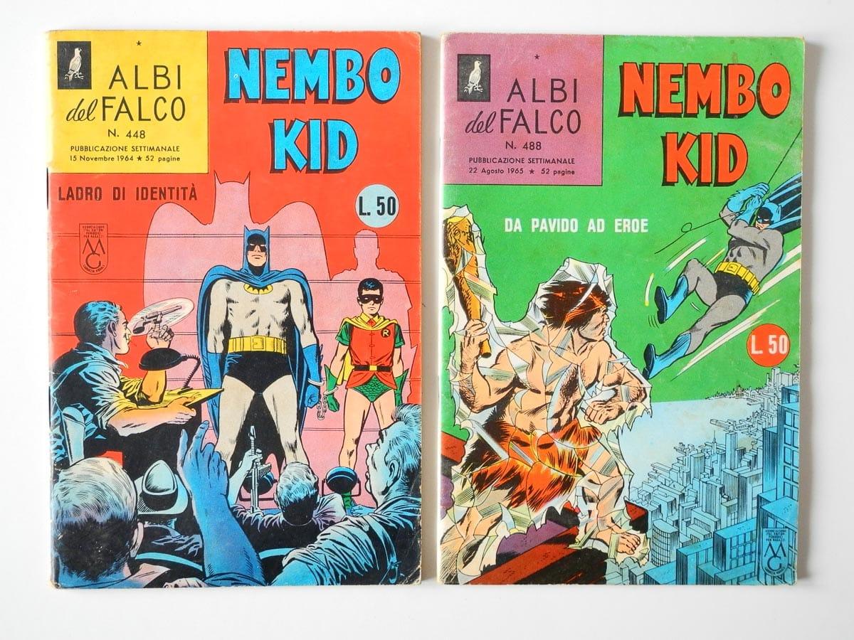 Albi del Falco Nembo Kid n. 448 – 488 Mondadori