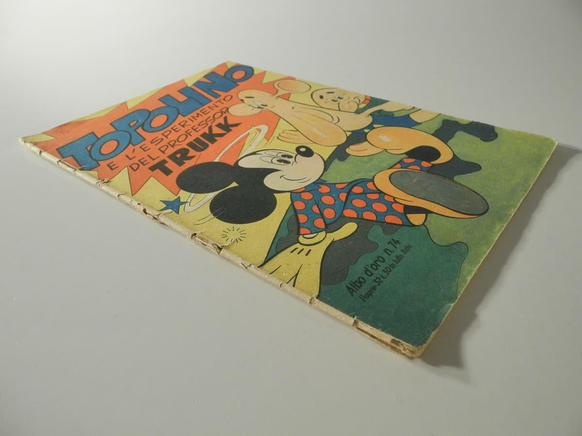 Albo d'Oro prima serie n. 74 originale