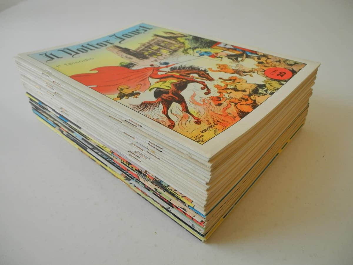 Albo d'Oro serie Avventurosi n. 1/199 Mondadori