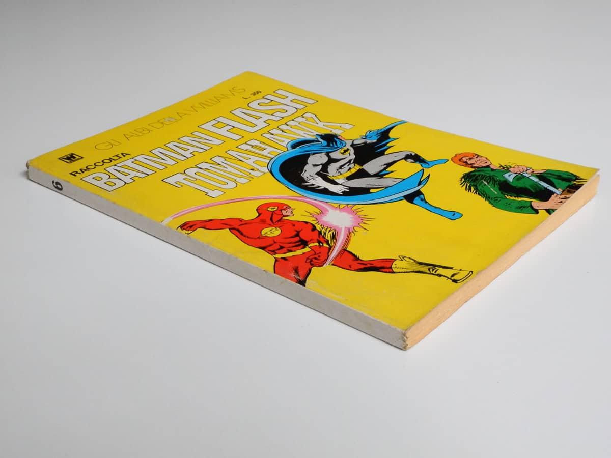 Batman Raccolta Flash Tomahawk n. 6 con poster Williams Inteuropa