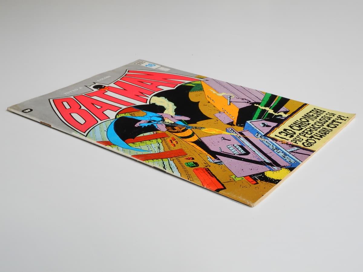 Batman nuova serie numero 16 edizioni Williams 1973