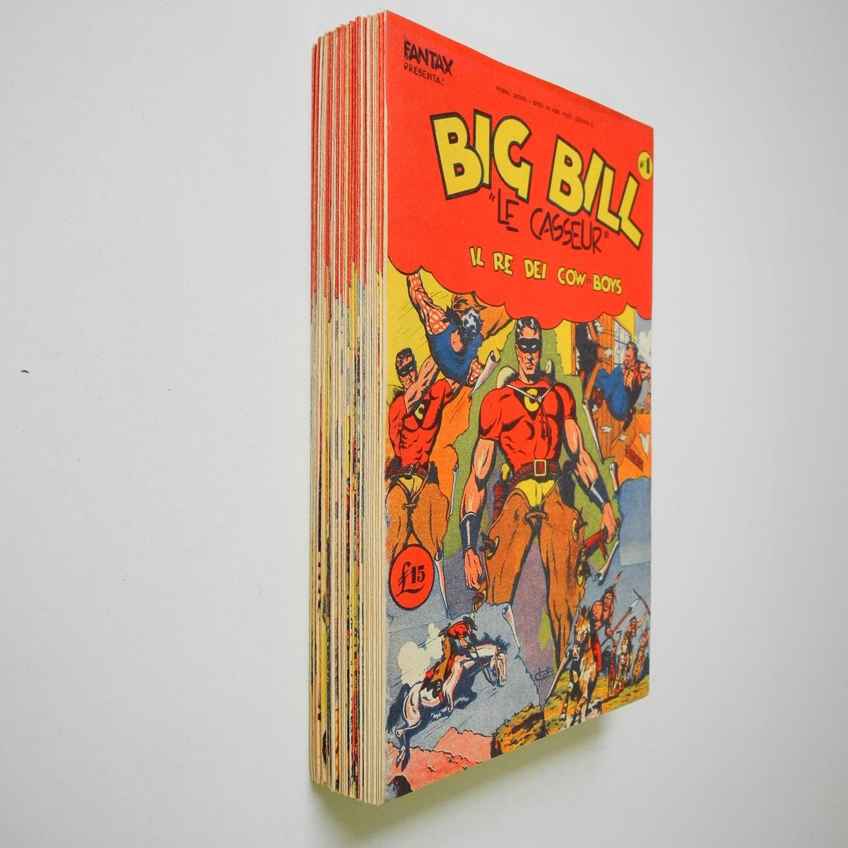 Big Bill Le Casseur serie completa n. 1/41 Western avventure di Giovanni De Leo