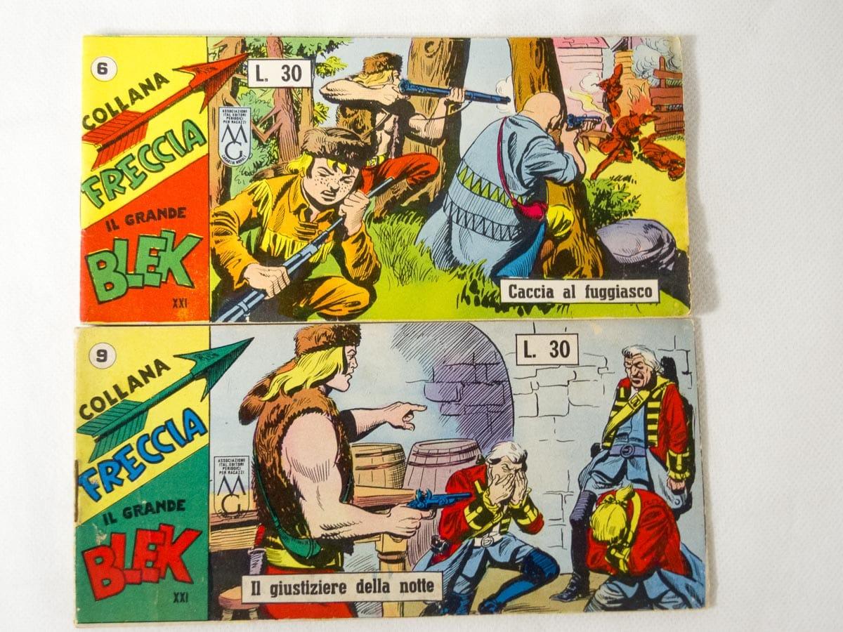 Blek Collana Freccia XXI serie n. 6 – 9 originali