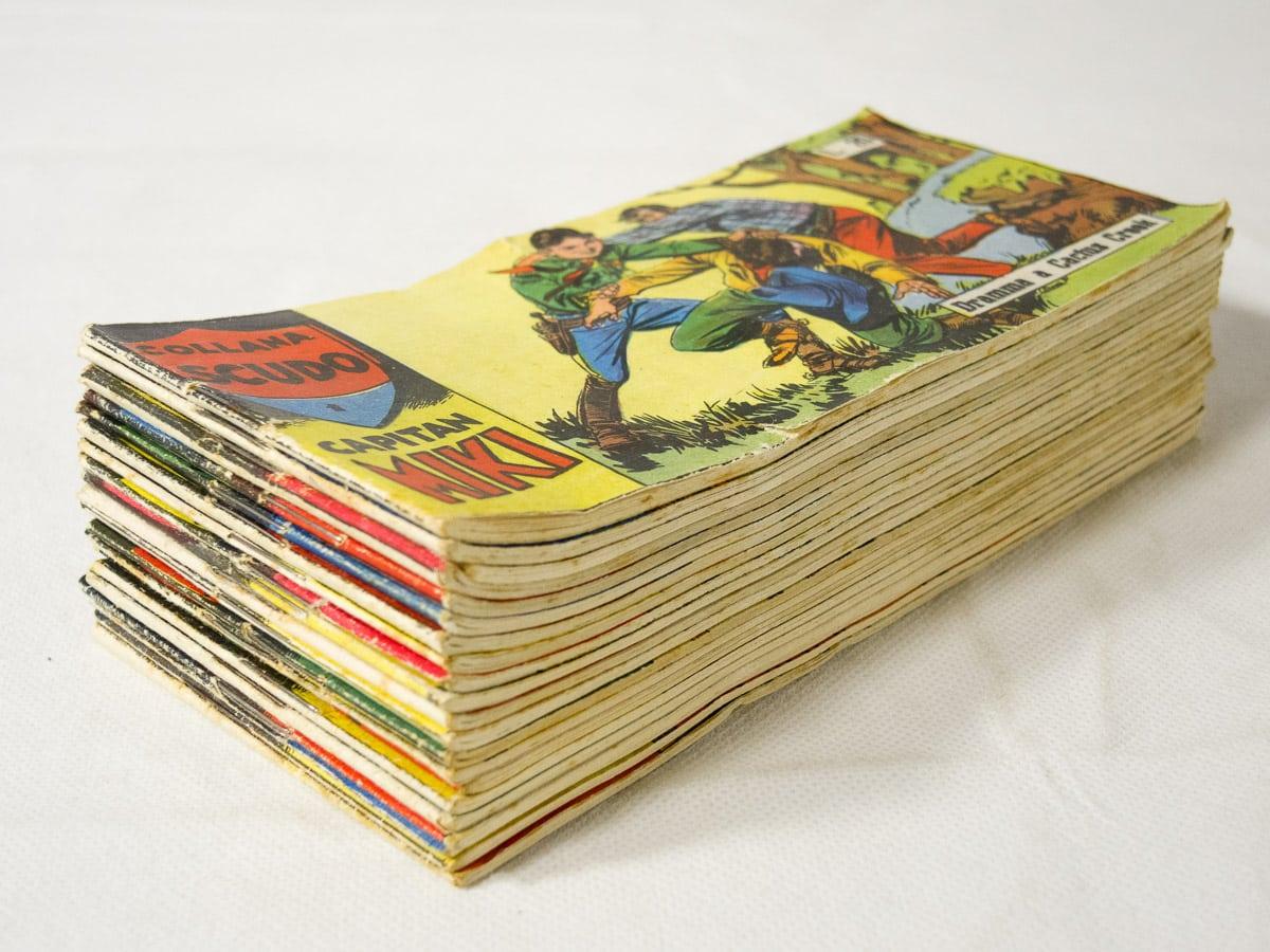 Capitan Miki XIII serie completa n. 1/21 edizioni Dardo
