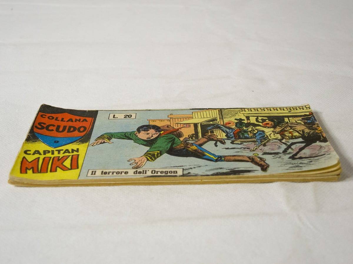 Capitan Miki XV serie n. 11 Dardo