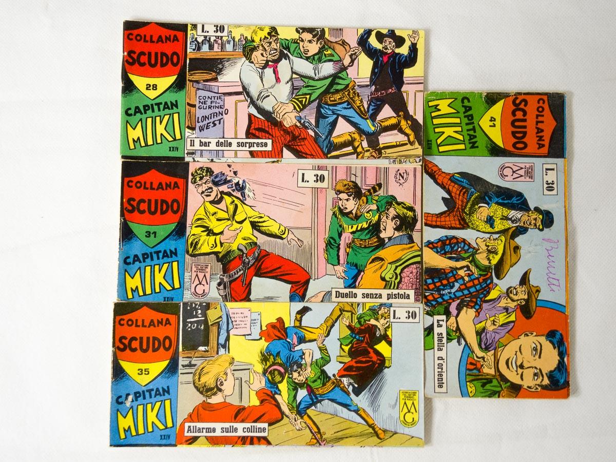 Capitan Miki XXIV serie lotto Dardo