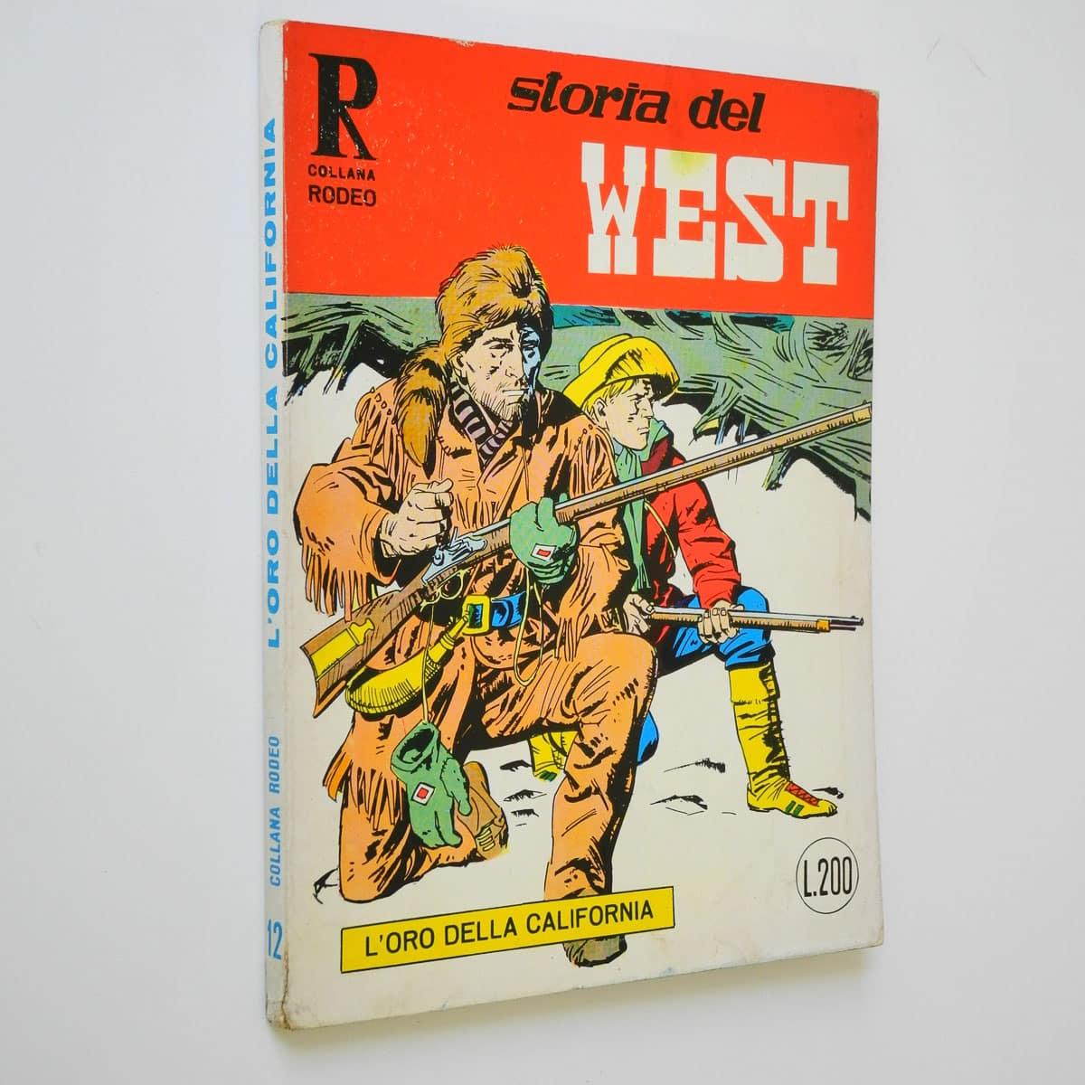 Collana Rodeo n. 12 Storia del West originale