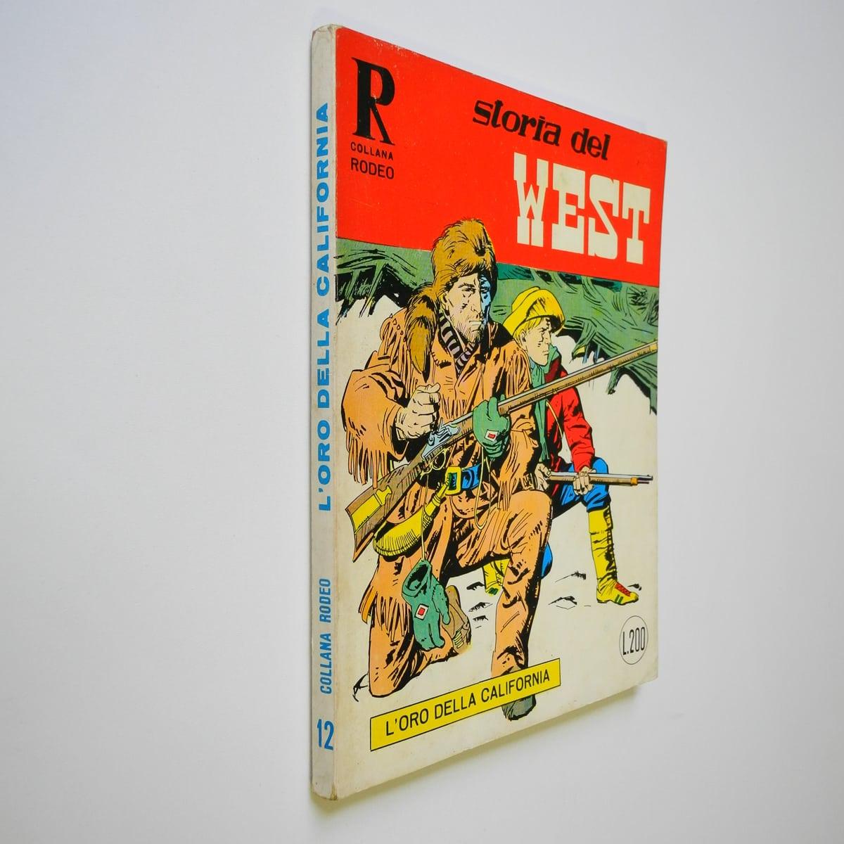 Collana Rodeo n. 12 Storia del West (2) Araldo