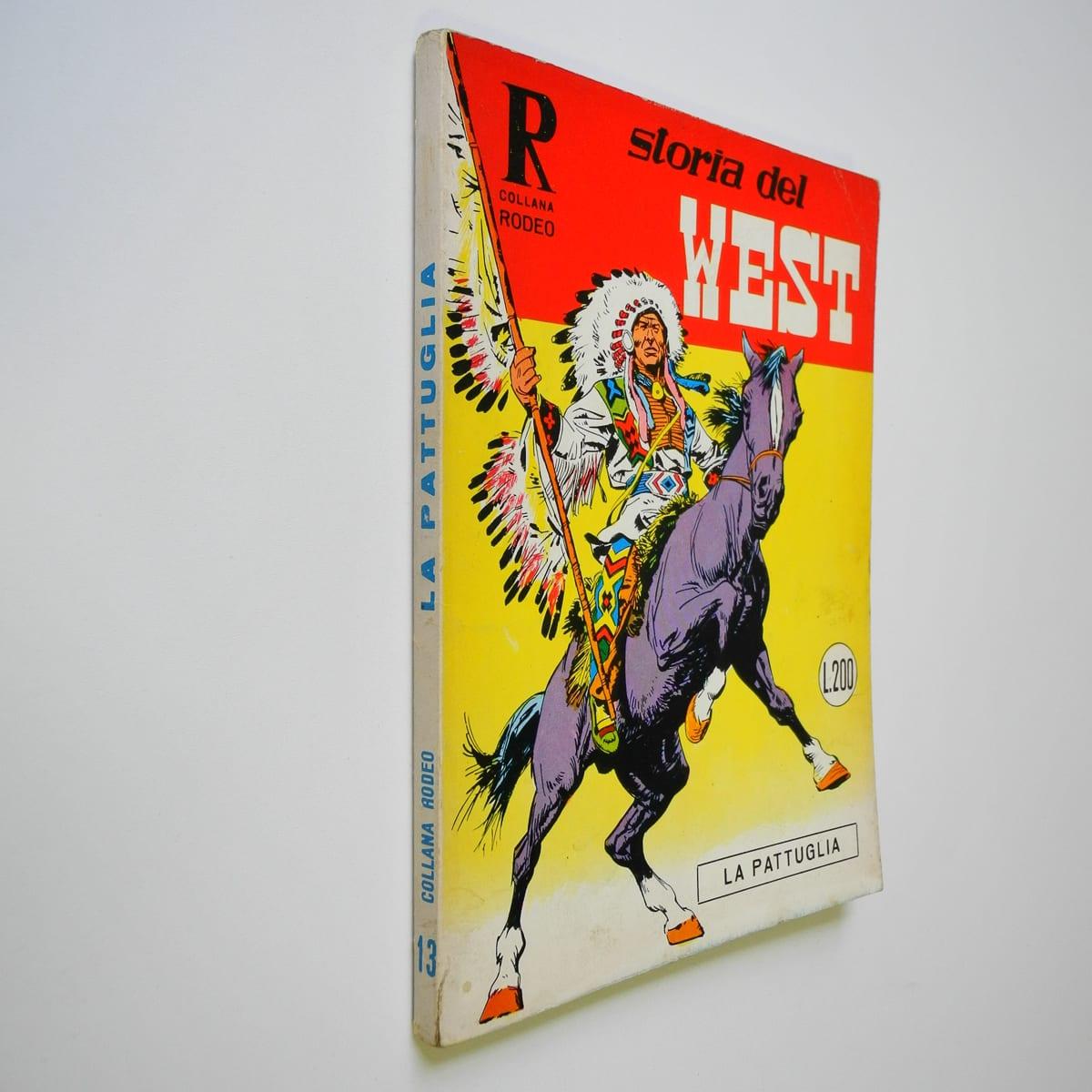 Collana Rodeo n. 13 Storia del West Bonelli