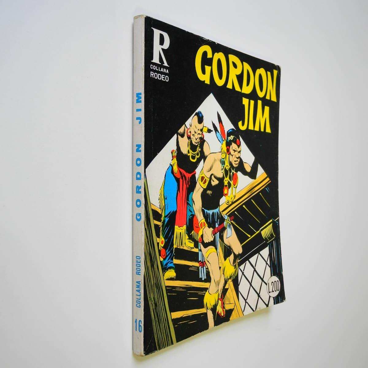 Collana Rodeo n. 16 Gordon Jim originale