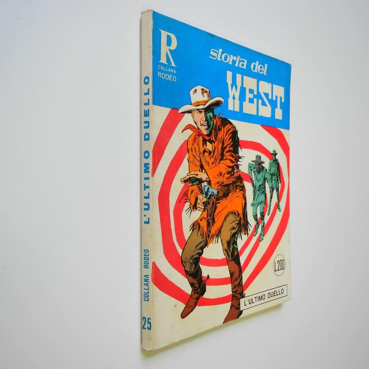 Collana Rodeo n. 25 Storia del West originale