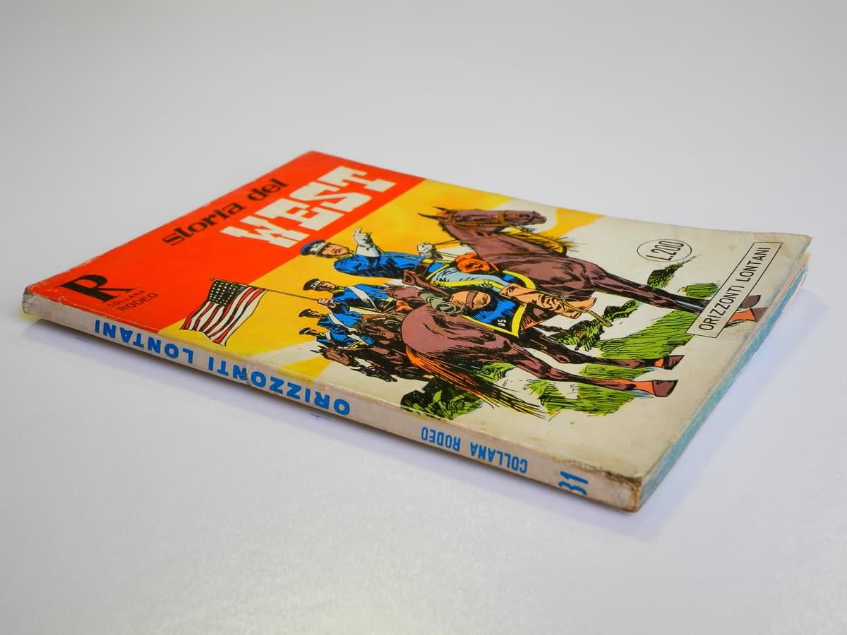 Collana Rodeo n. 31 Storia del West (3) originale