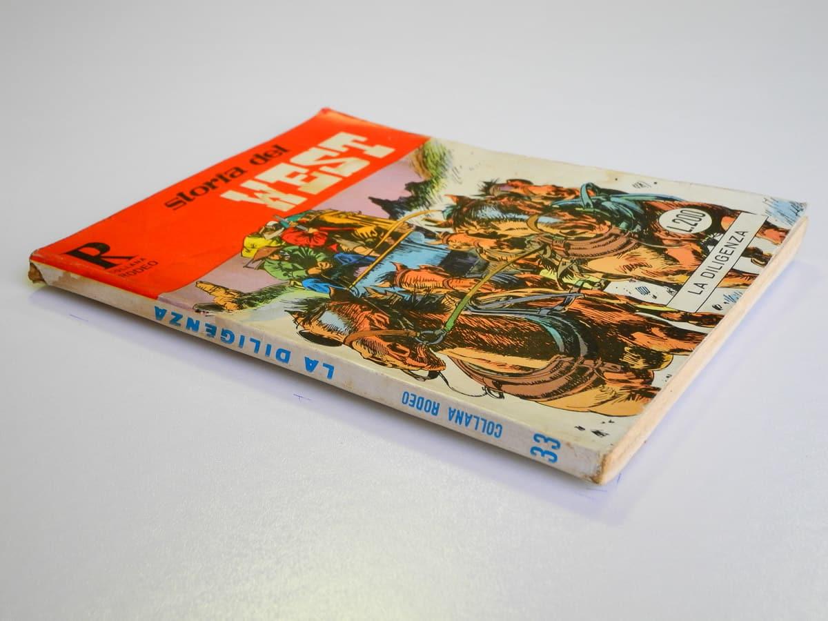 Collana Rodeo n. 33 Storia del West (1) originale