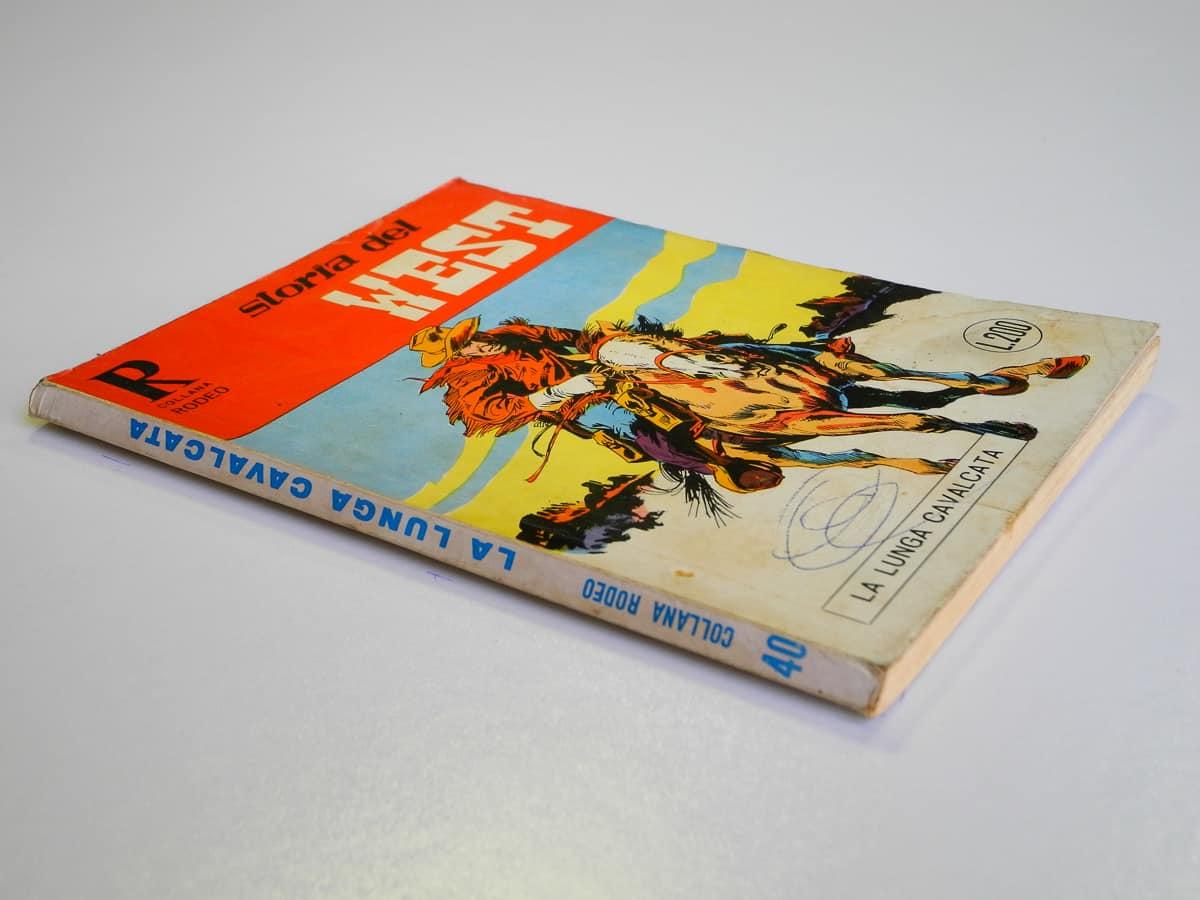 Collana Rodeo n. 40 Storia del West (1) originale
