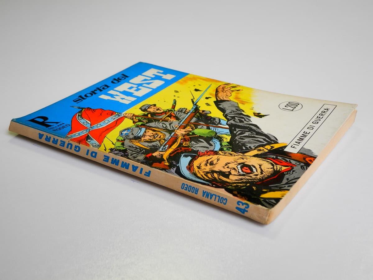 Collana Rodeo n. 43 Storia del West (2) originale