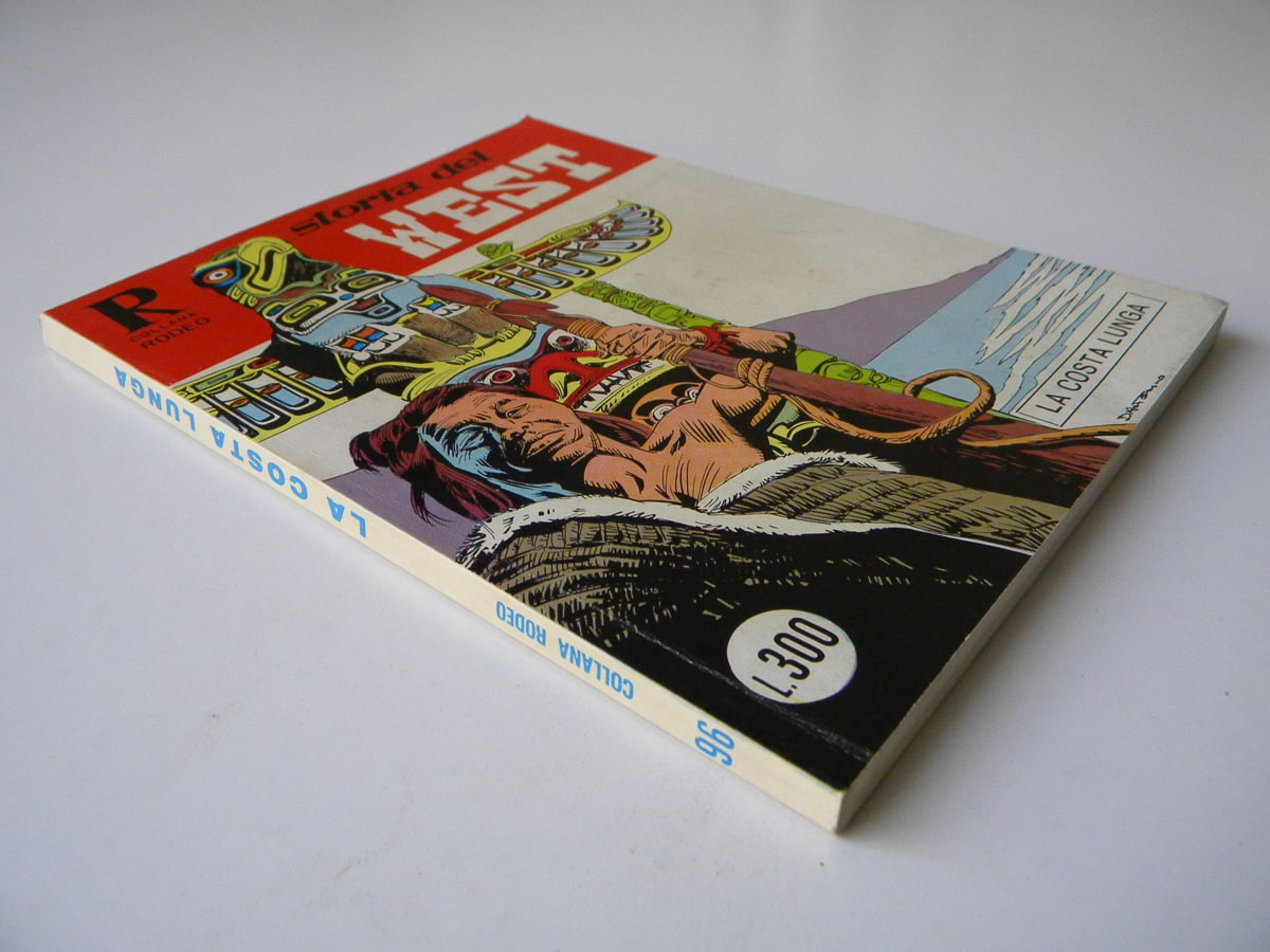 Collana Rodeo n. 96 Storia del West Bonelli