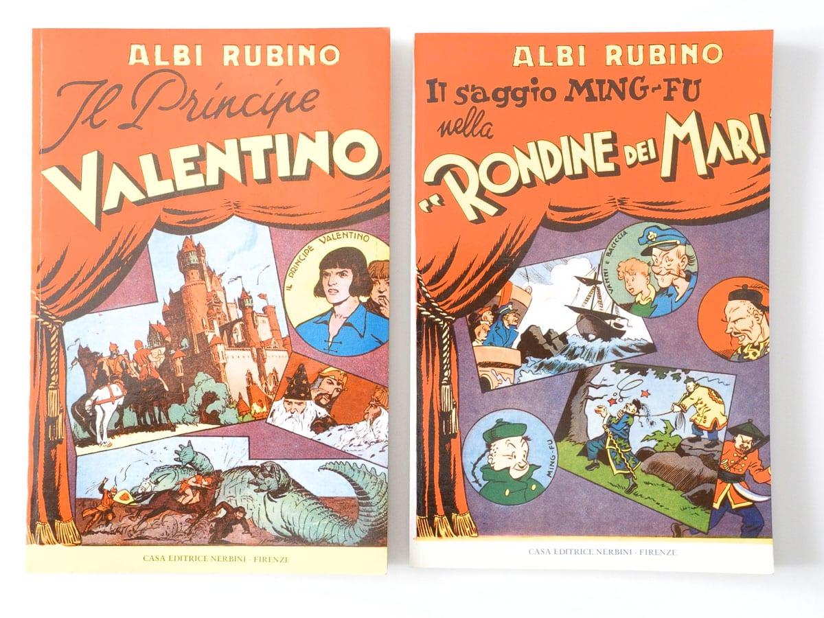 Collezione Albi Rubino vol. 1 e 2 Nerbini