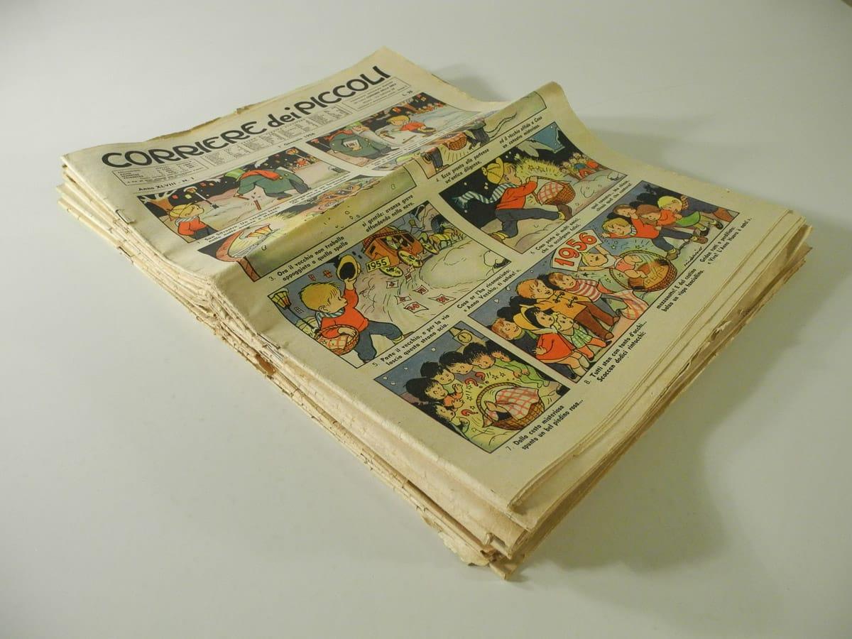 Fumetti del Corriere dei Piccoli anno XLVIII originali