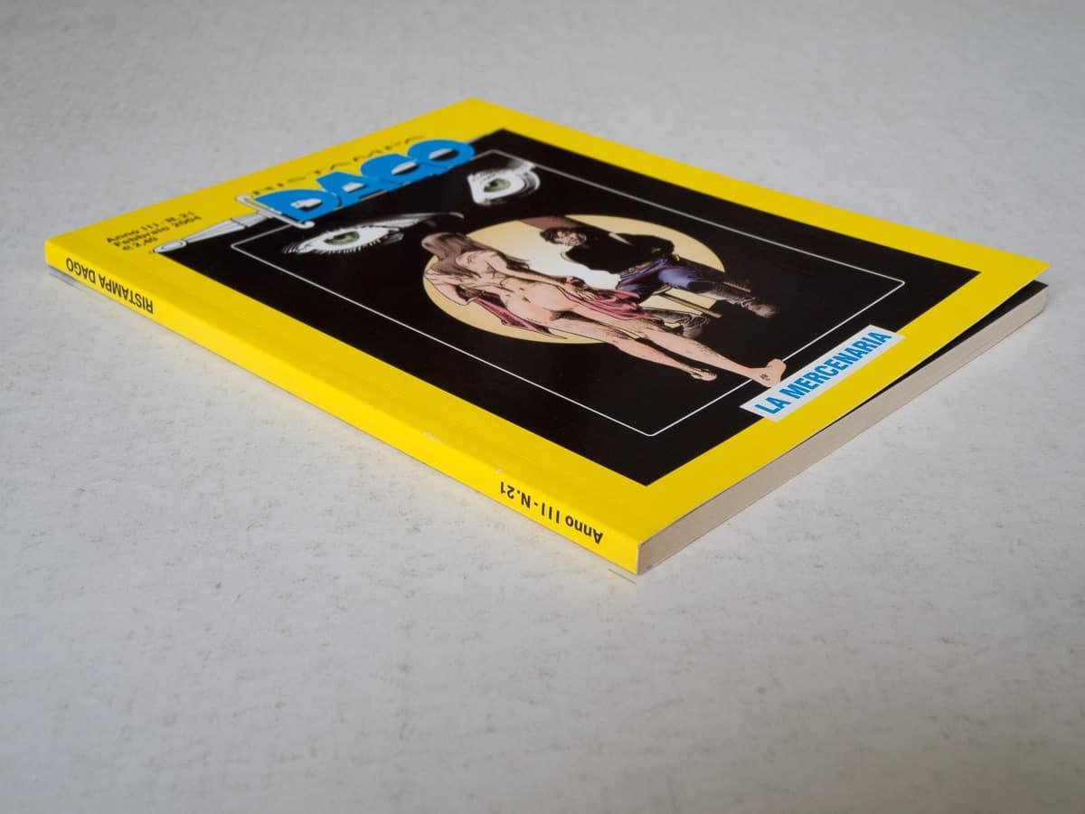 Dago ristampa anno III n. 21 edizioni Eura