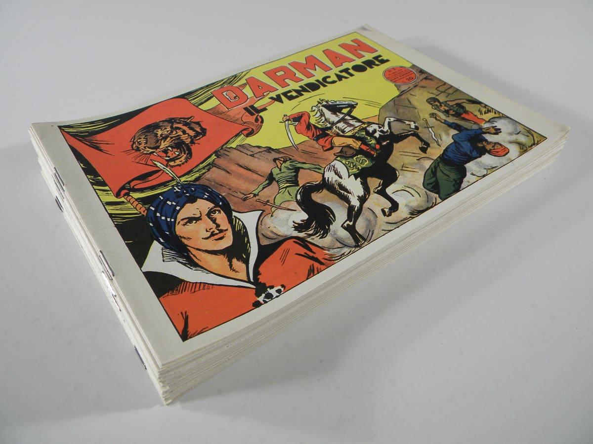 Fumetti di Darman serie completa n. 1/26 Victory