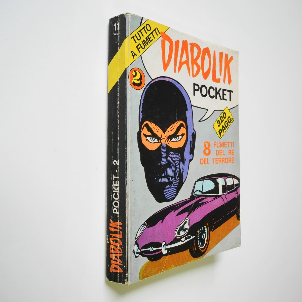 Diabolik Pocket n. 2 Sansoni