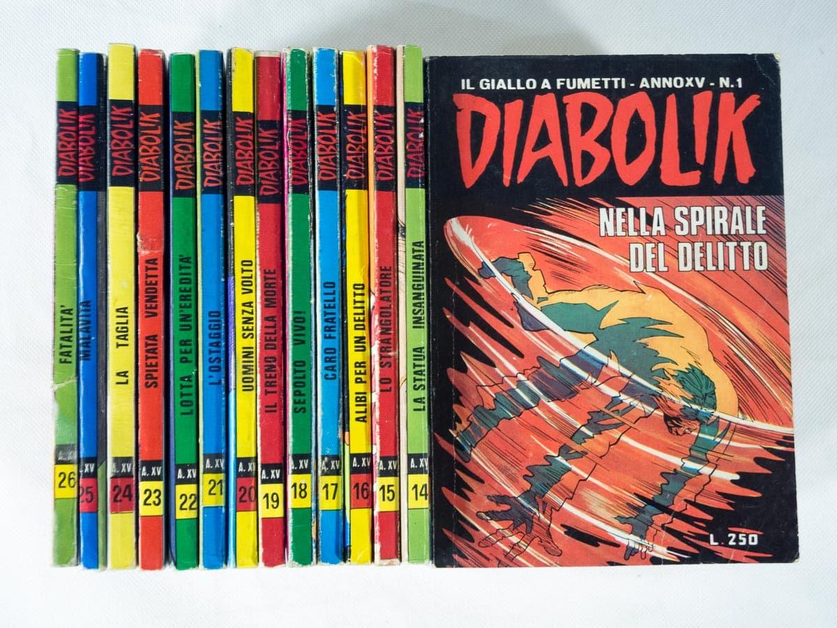 Diabolik anno XV completo n. 1/26 Astorina originali