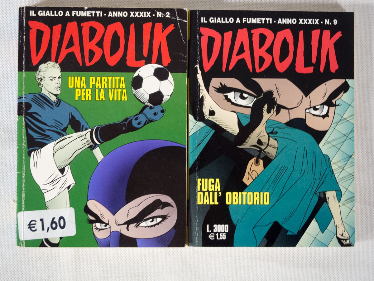 Diabolik anno XXXIX n. 2 e 9 originali Astorina