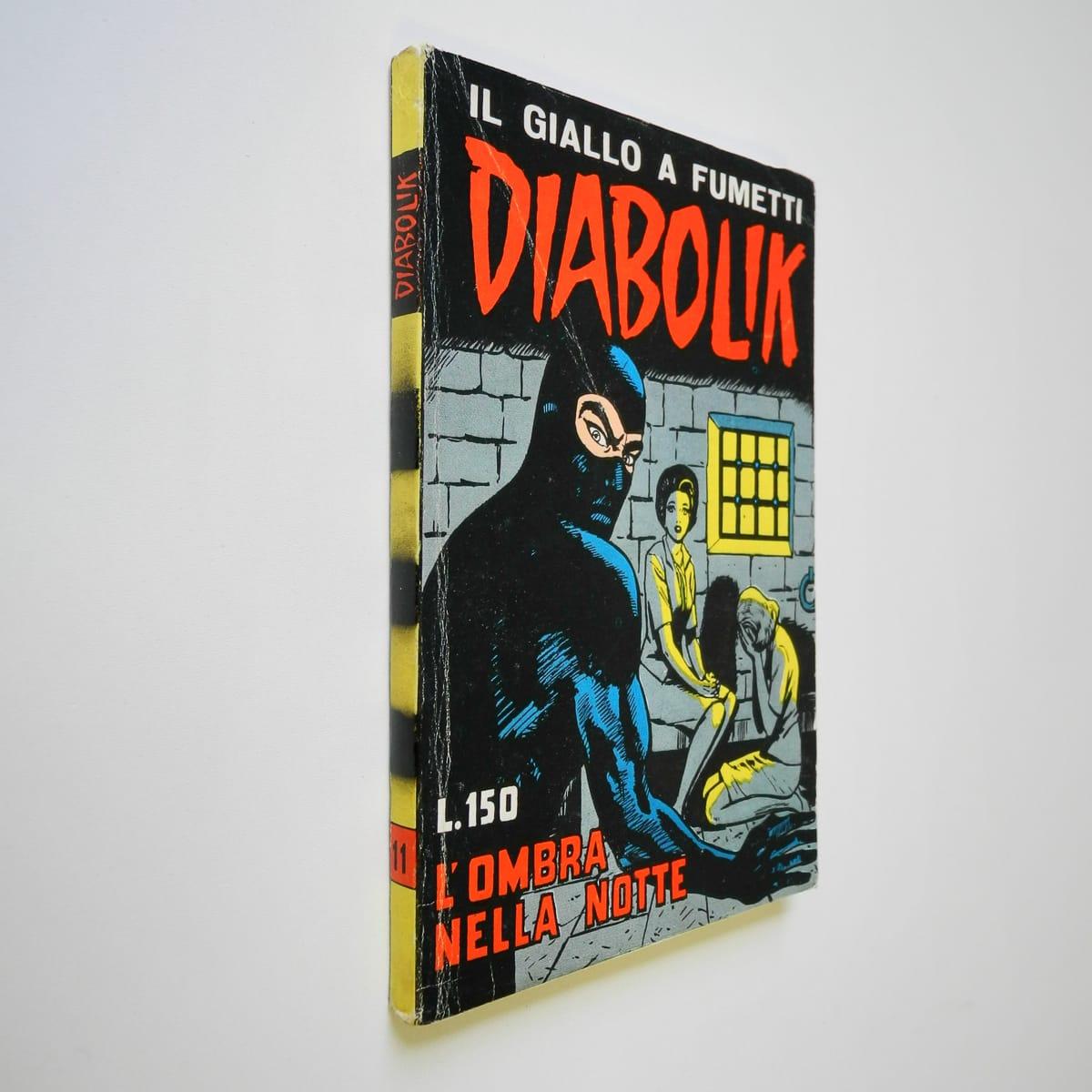 Diabolik seconda serie n. 11 originale