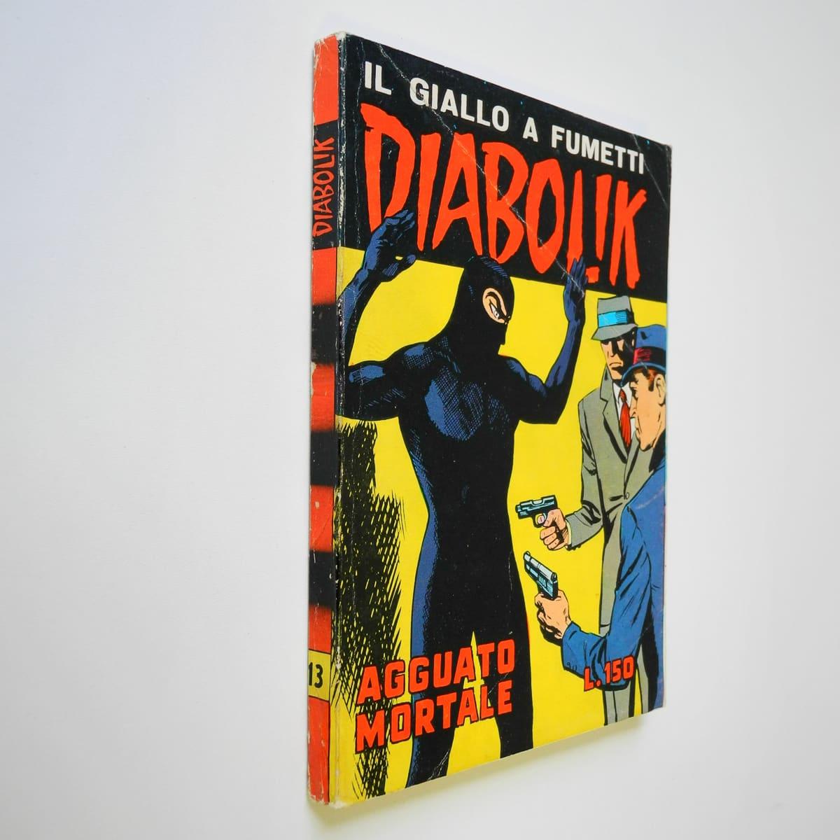 Diabolik seconda serie n. 13 originale