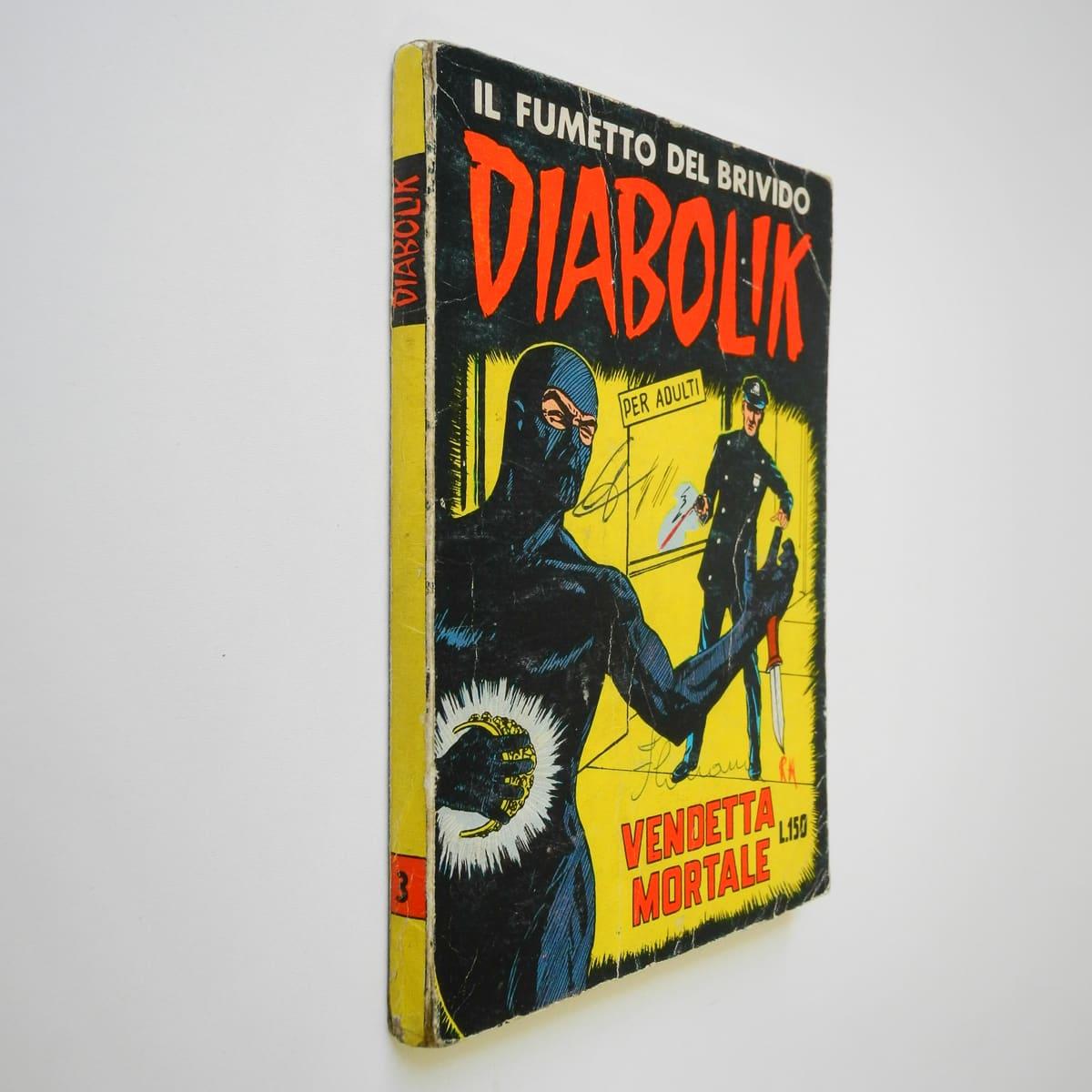 Diabolik seconda serie n. 3 (2) originale