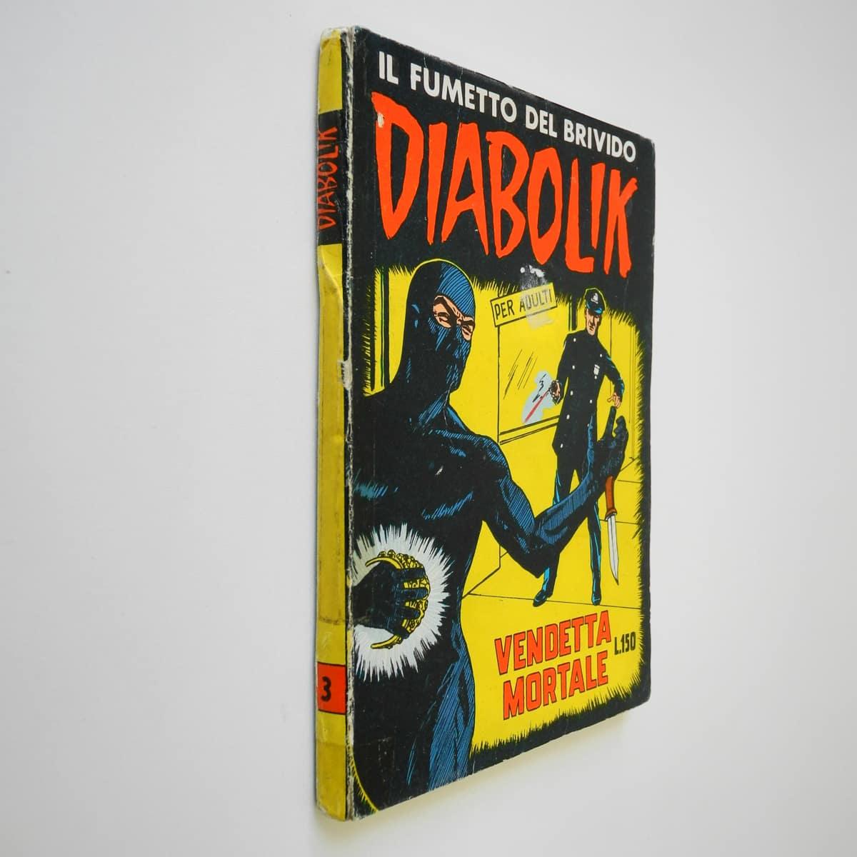 Diabolik seconda serie n. 3 originale