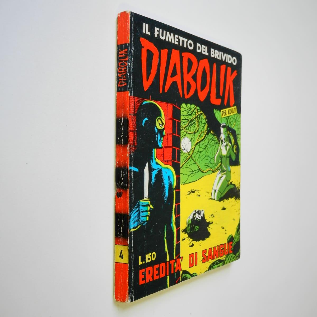 Diabolik seconda serie n. 4 originale