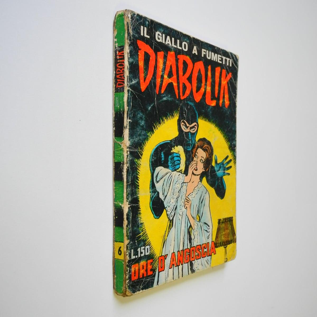Diabolik seconda serie n. 6 originale