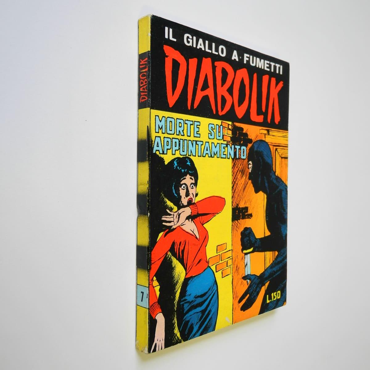 Diabolik seconda serie n. 7 originale
