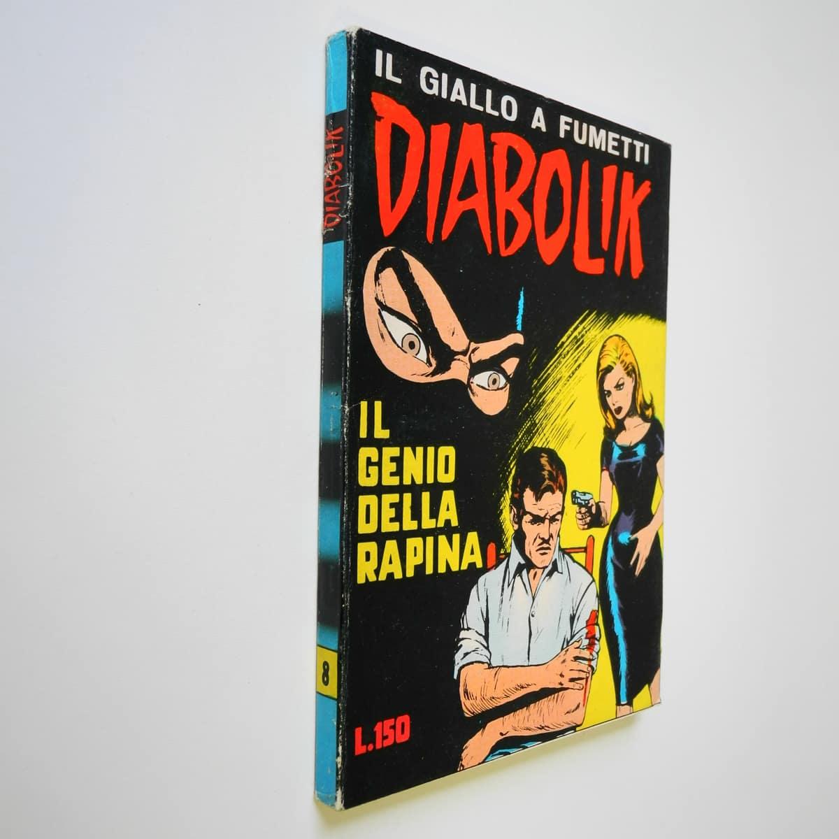 Diabolik seconda serie n. 8 originale