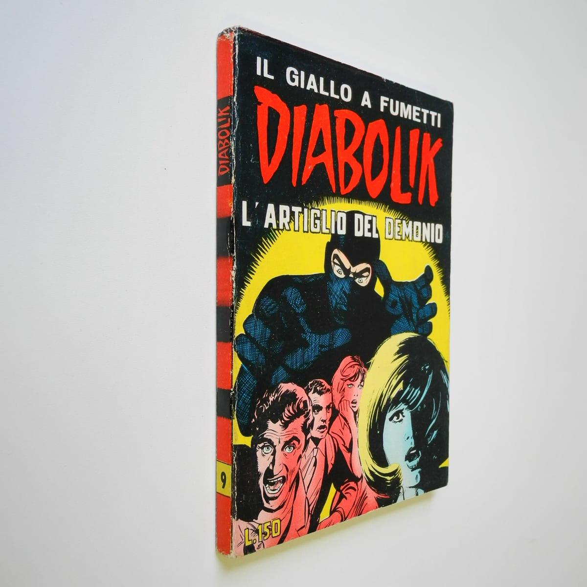 Diabolik seconda serie n. 9 originale