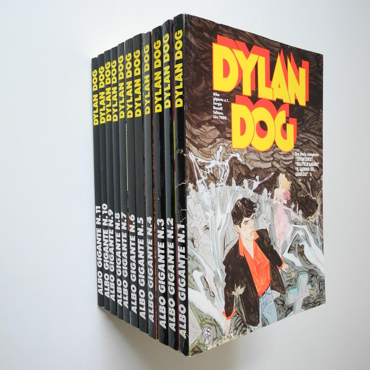 Dylan Dog Albo Gigante n. 1/11 originali