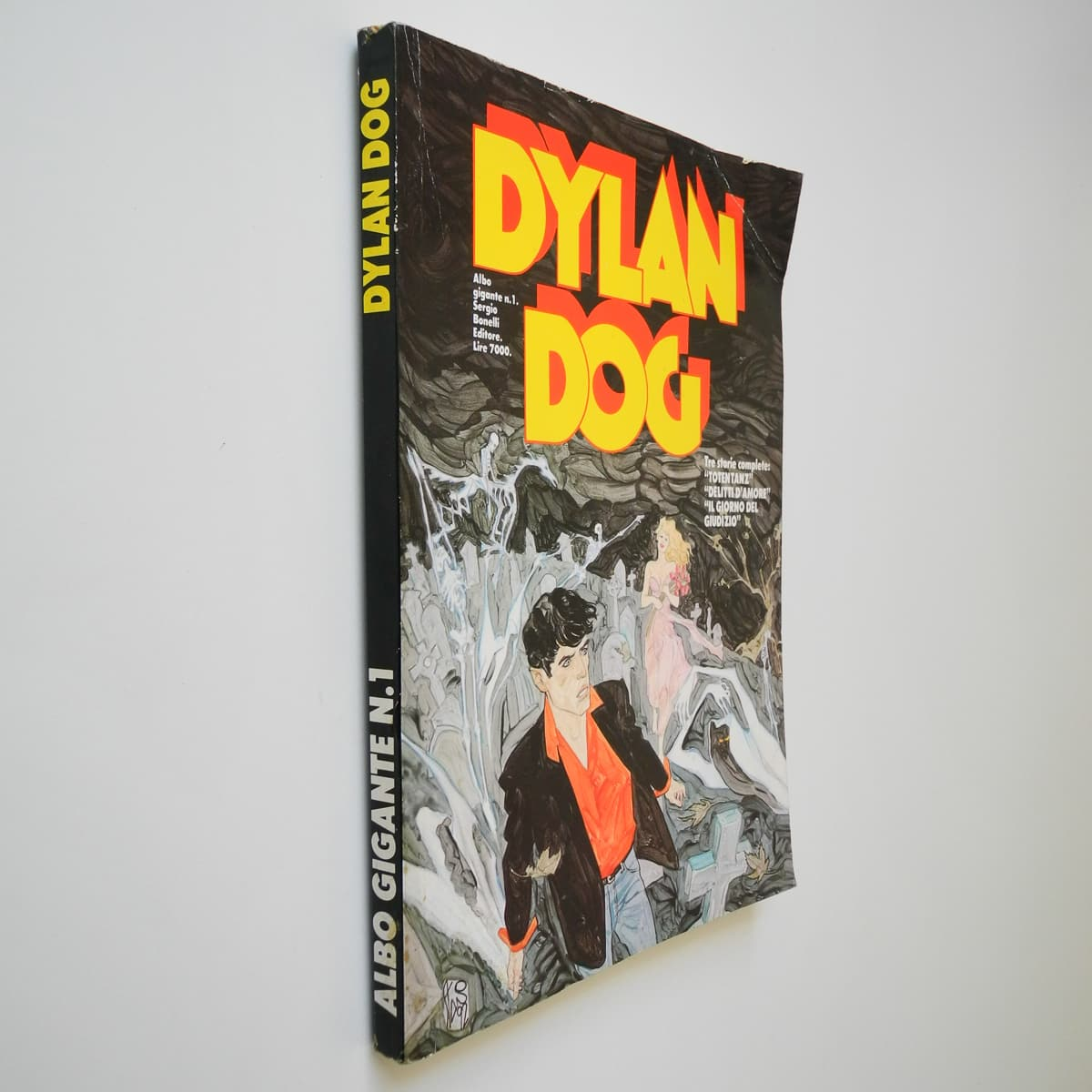 Dylan Dog Albo Gigante n. 1 (2) originale Daim Press