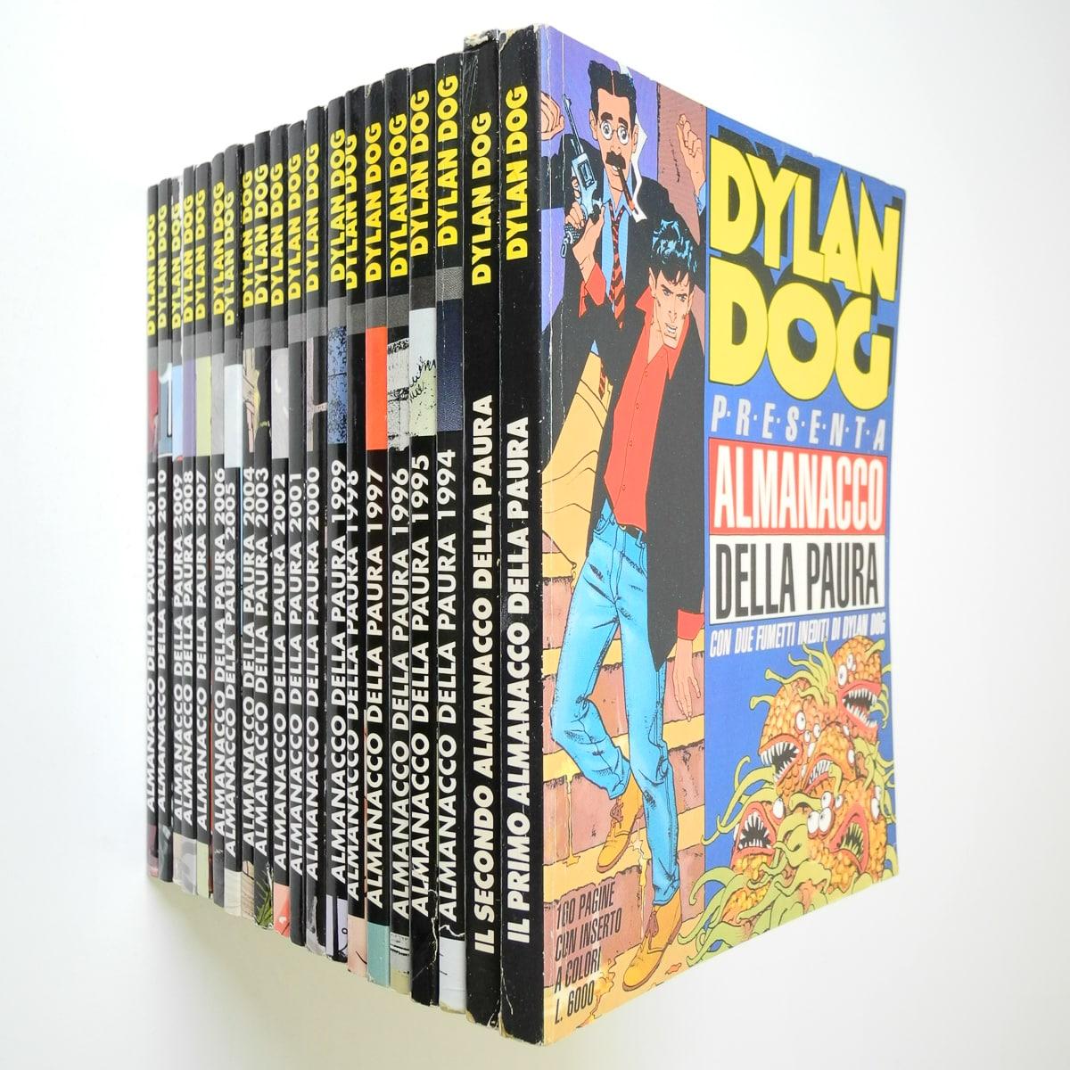 Dylan Dog Almanacco della paura dal 1991 al 2011 Bonelli