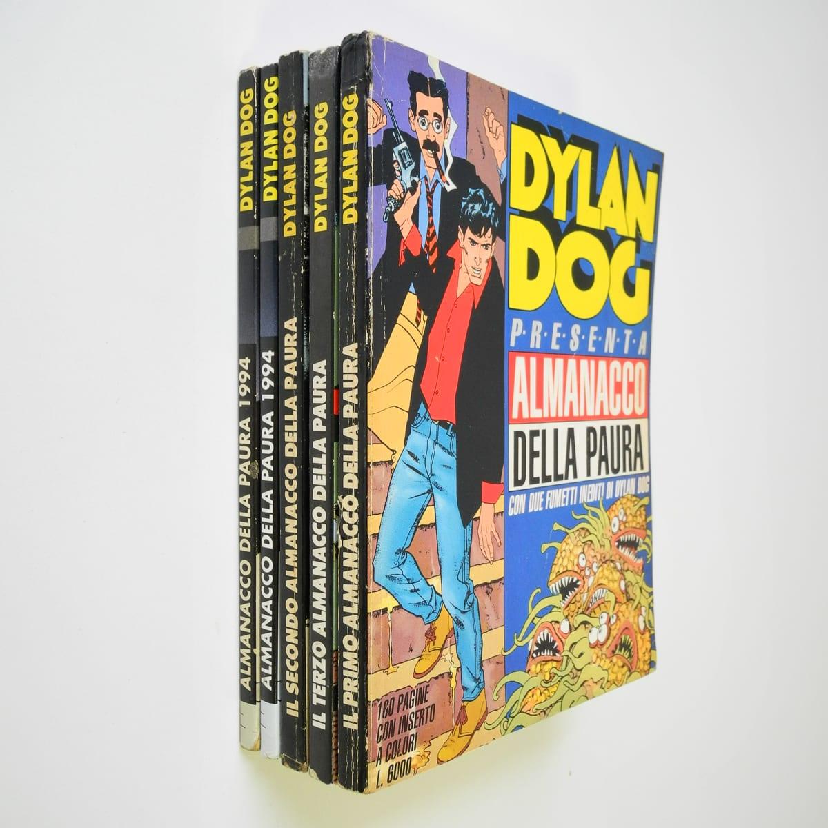 Dylan Dog Almanacco della paura 1991/94 lotto