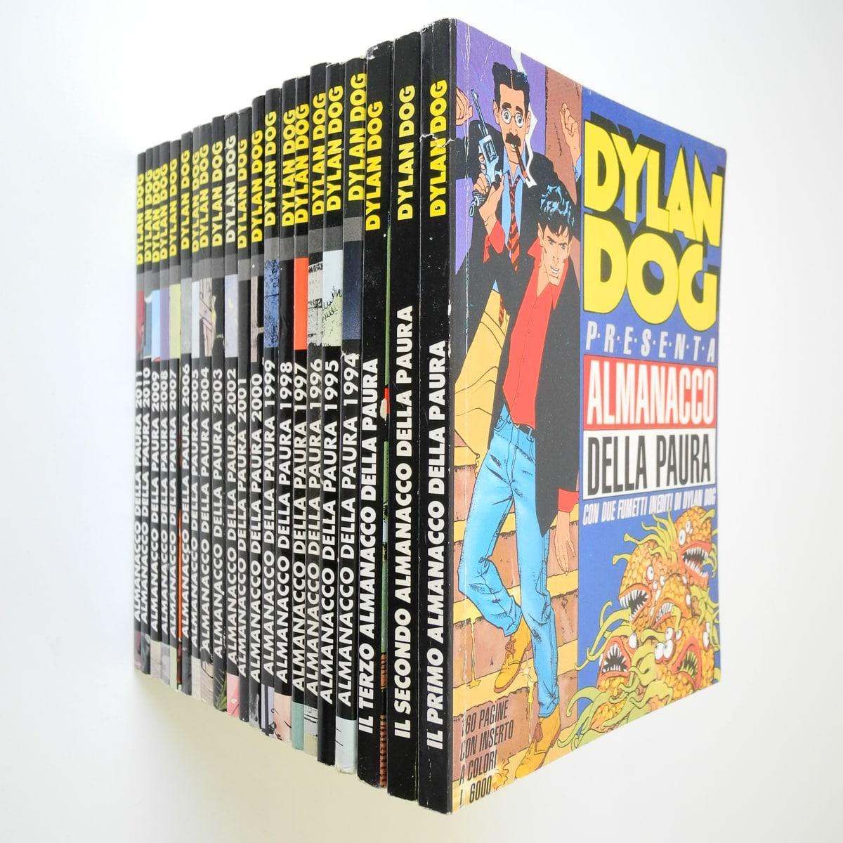Dylan Dog Almanacco della paura completa dal 1991 al 2011 originali