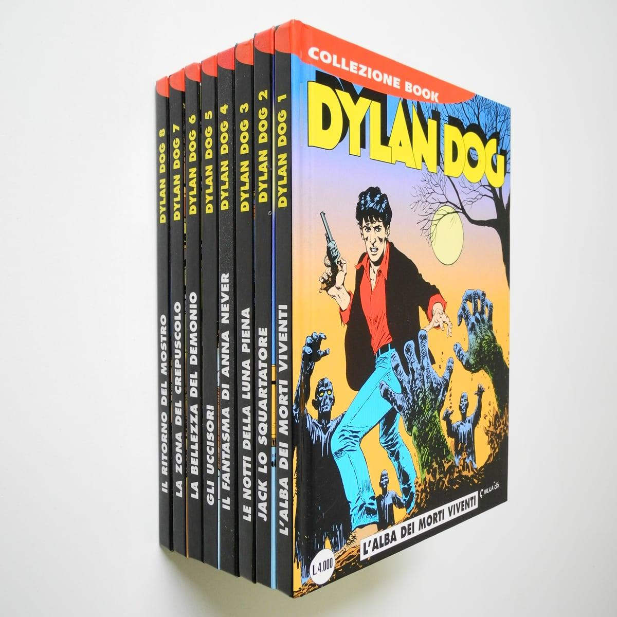 Dylan Dog Collezione Book sequenza completa n. 1/8 Bonelli