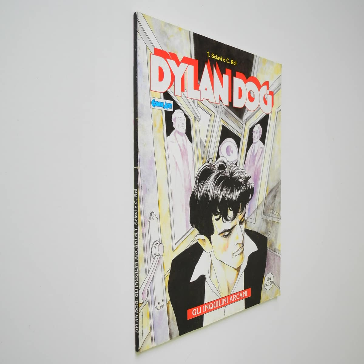 Dylan Dog Gli Inquilini Arcani (2) Comic Art