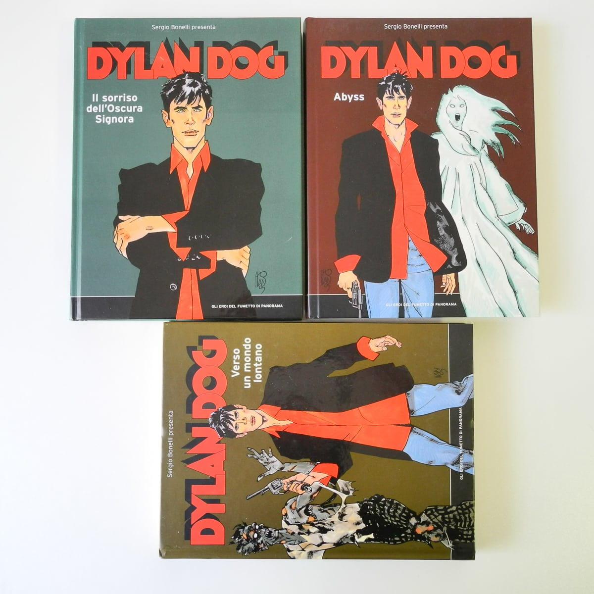 Dylan Dog Gli eroi del fumetto n. 4 5 6 Panorama