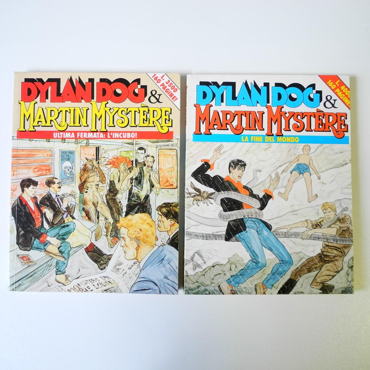 Dylan Dog & Martin Mystere Bonelli (2)