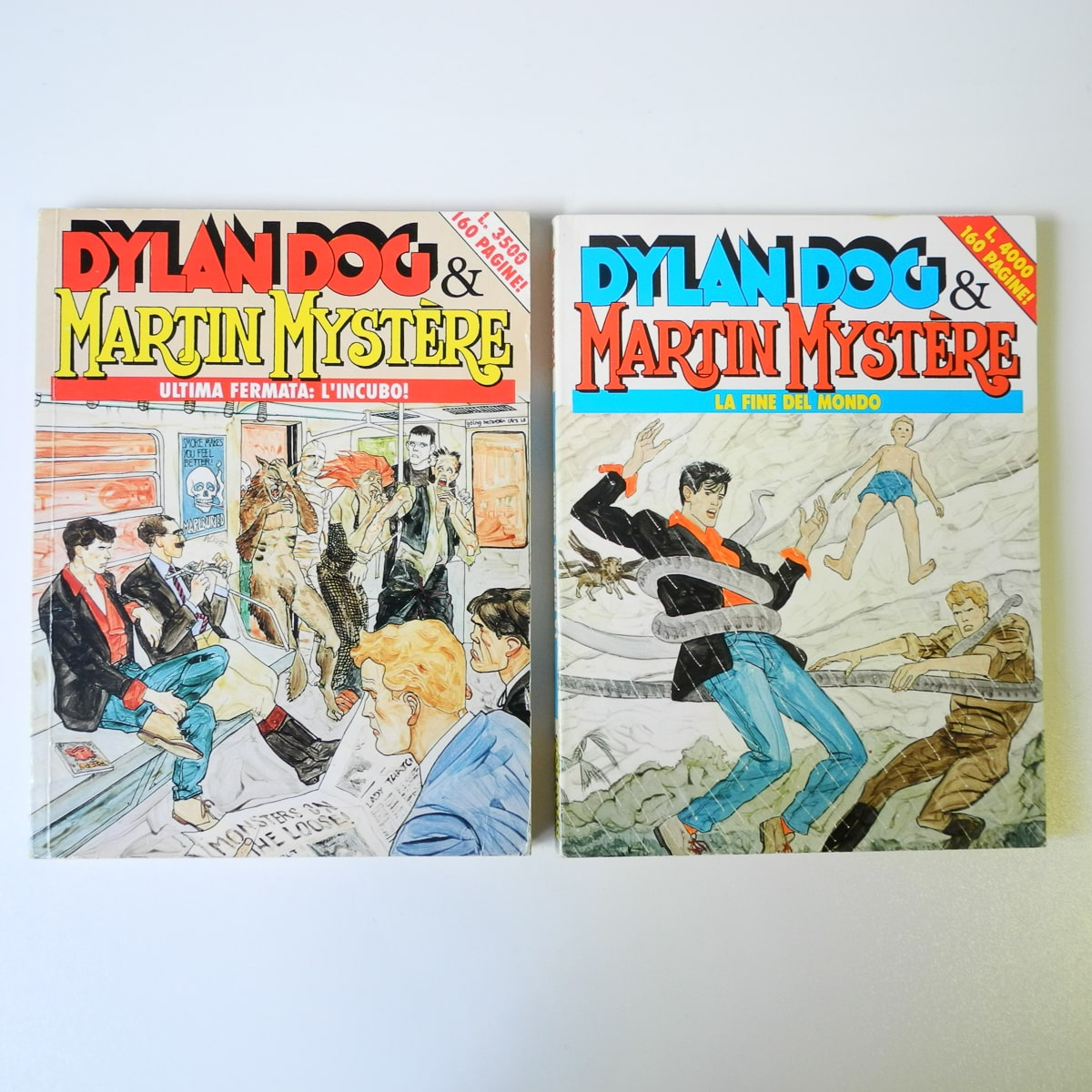 Dylan Dog & Martin Mystere originali