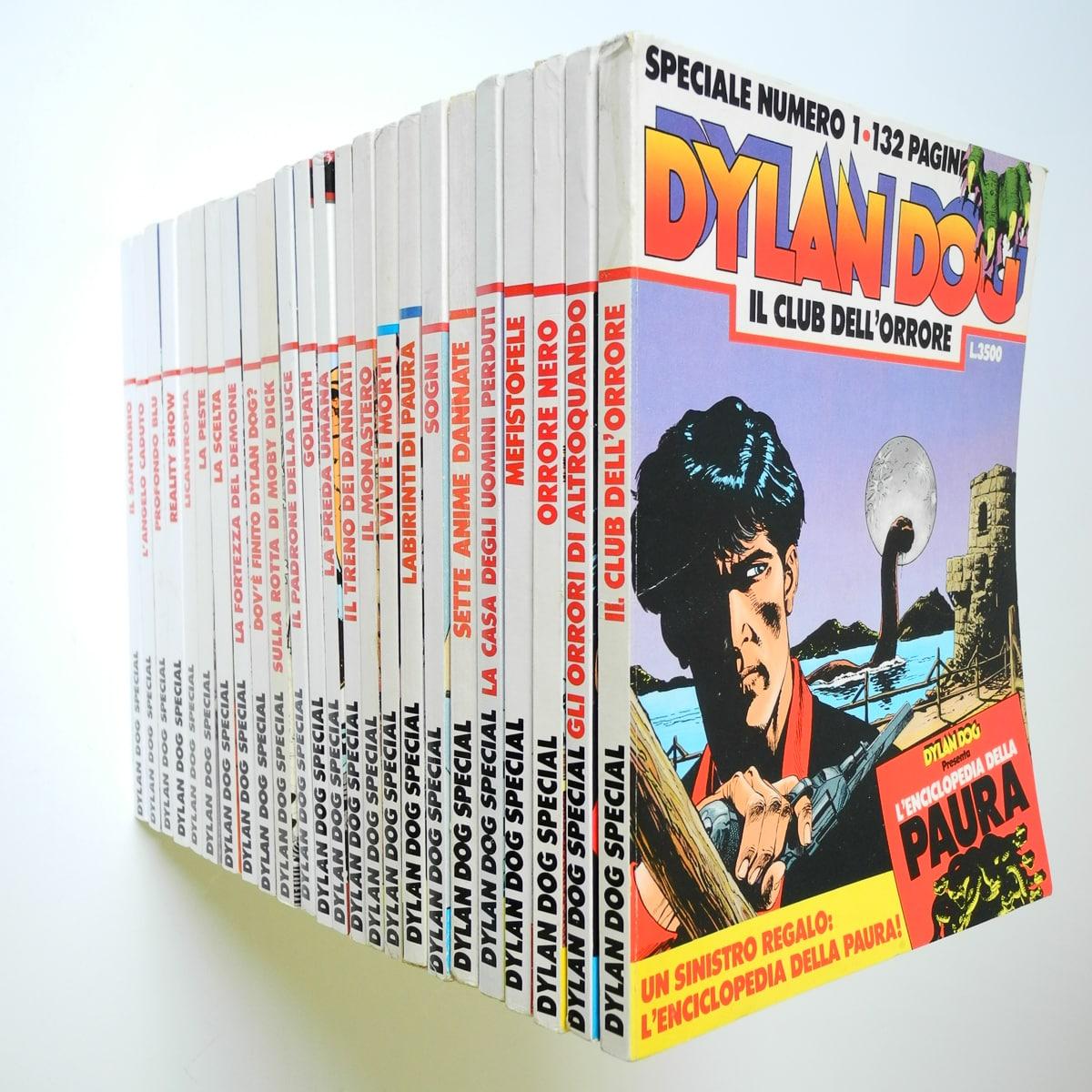 Dylan Dog speciale n. 1/24 con albetti originali Bonelli